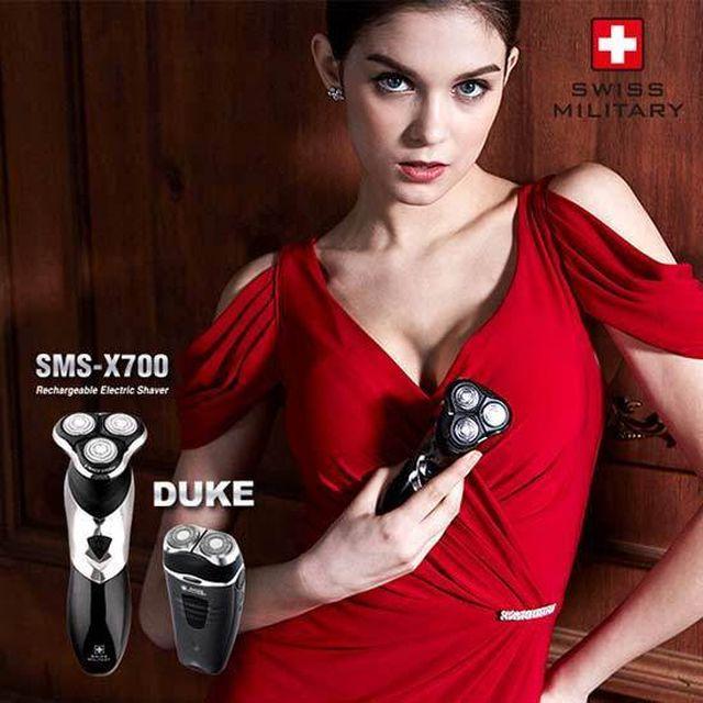 스위스밀리터리 전기면도기+휴대용면도기