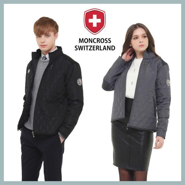 몽크로스 퀼팅 재킷 2종(1+1)_남여공용