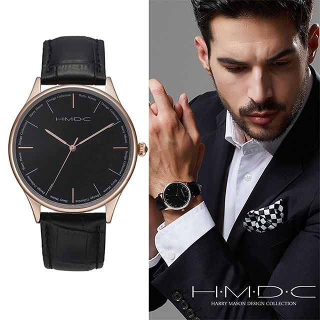 [Harry Mason] 해리메이슨 HMDC 클래식 남성 워치 / 남성 시계 HD5303