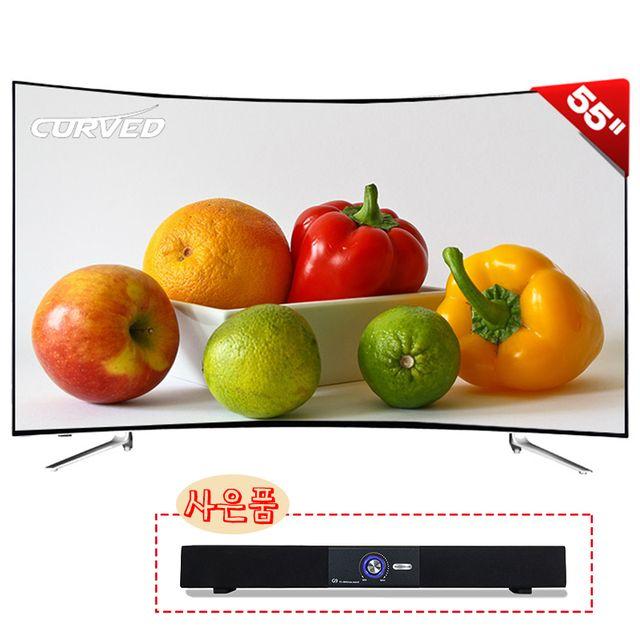 [55/65형 택1] 제우스 UHD LED TV 커브드형 + G9사운드바 (★특별가격인하+사운드바 추가)