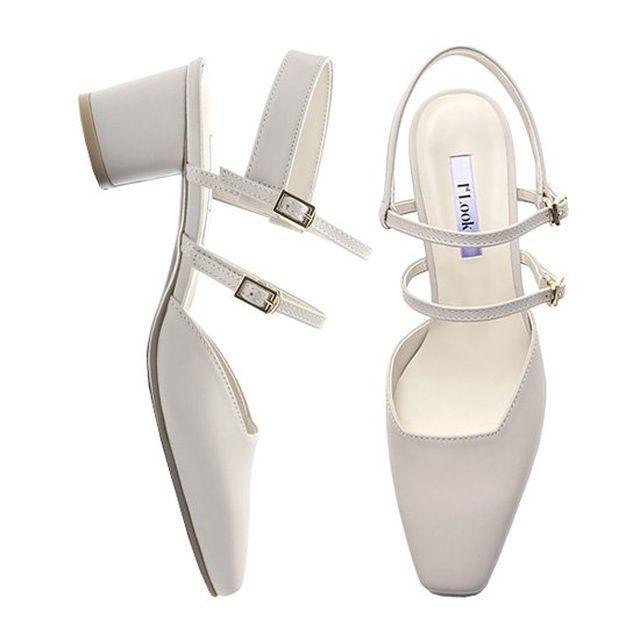 [1st look] stella sandal FL1802 beige 5cm - 차별화