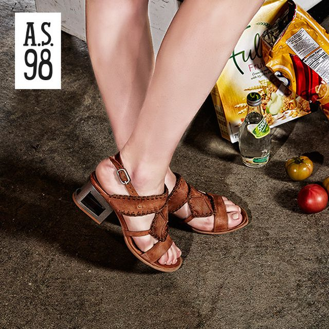 [A.S.98] all made in Italy_ 로코 샌들