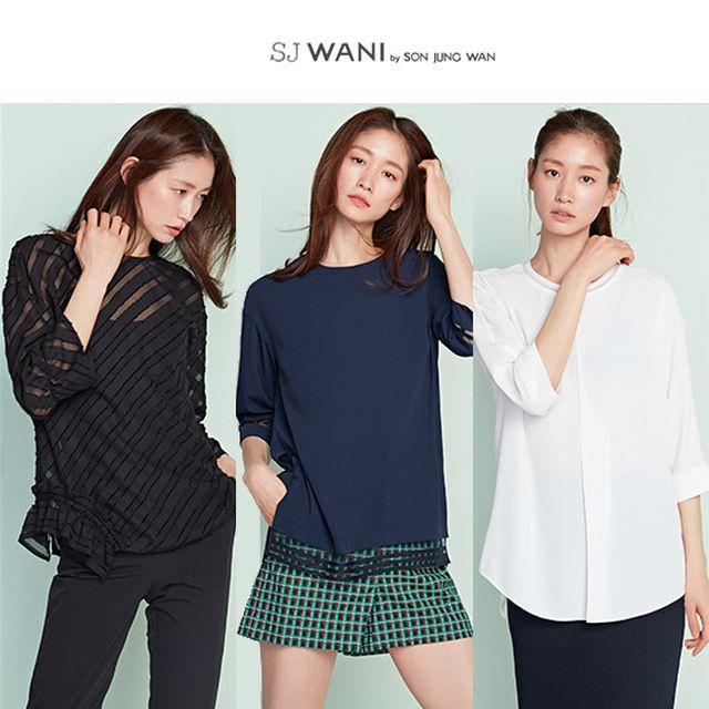SJ WANI 럭스 블라우스 3종