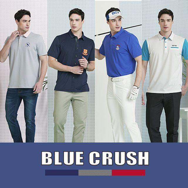 [Blue Crush]블루 크러쉬 카라셔츠 4종/3종+5부 반바지 (남/녀)