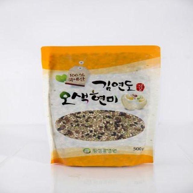 김연도 오색현미 + 옹기미니쌀독 세트