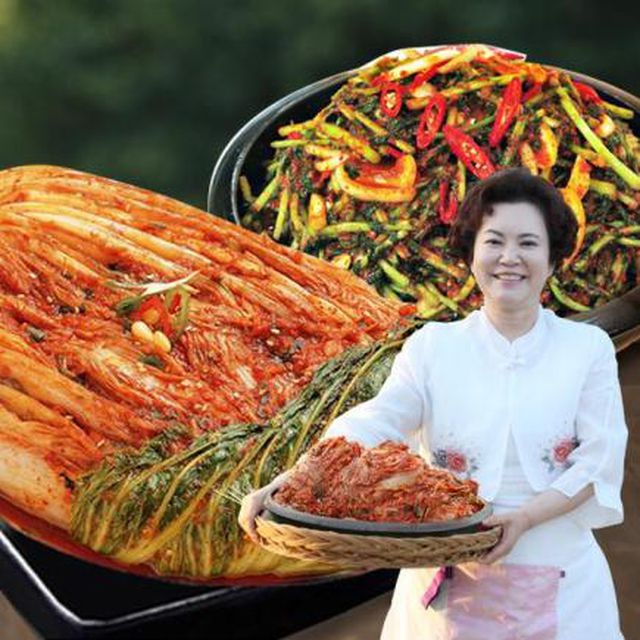 김순자명장 포기8kg+열무김치3kg