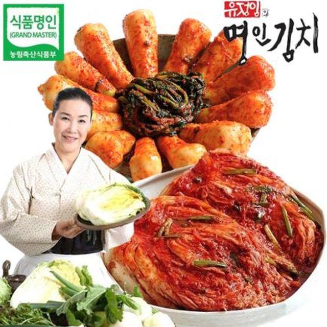 유정임명인김치세트 (배추8kg+총각3kg)