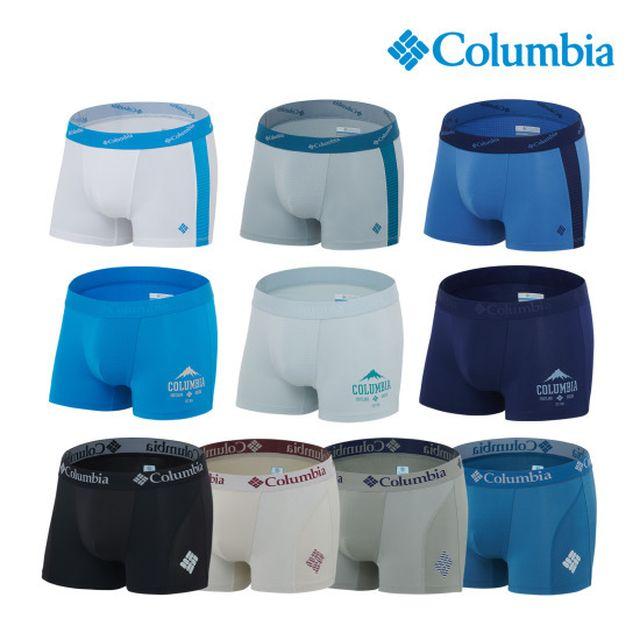 컬럼비아 남성속옷 퍼포먼스 옴니위크 드로즈 10종 세트