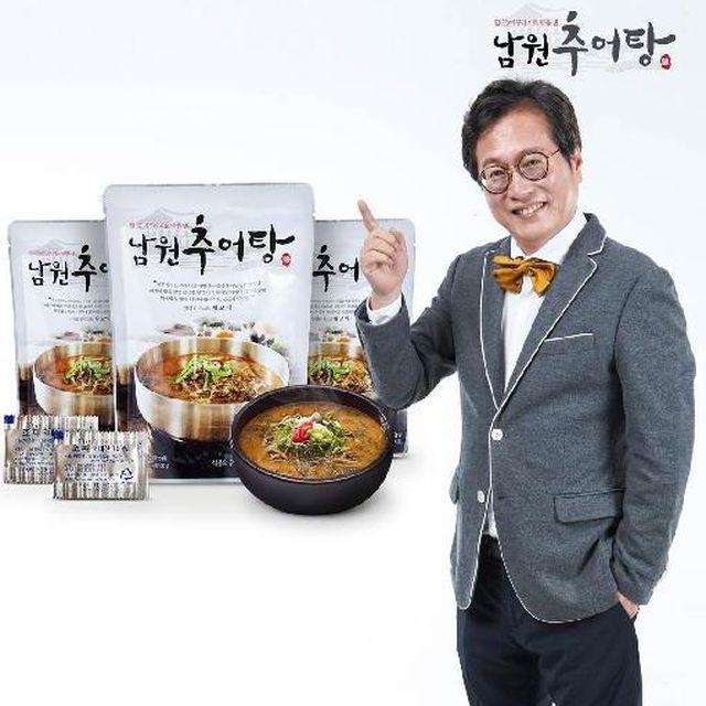 황교익의 미식가이드 - (맛보장제) 활미꾸라지로 맛을낸 남원추어탕400g*12팩+지리산초피가루12봉