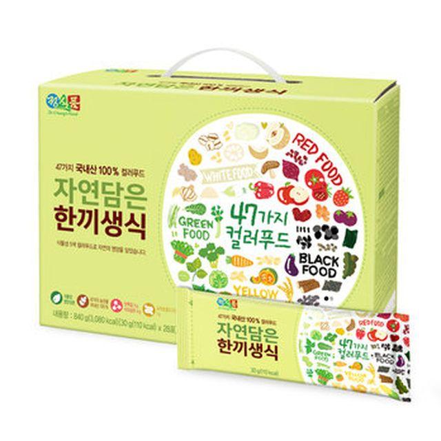 [TV](일)자연담은 한끼생식 4박스+베지밀 (3박스+2통)+3단 밀크보틀