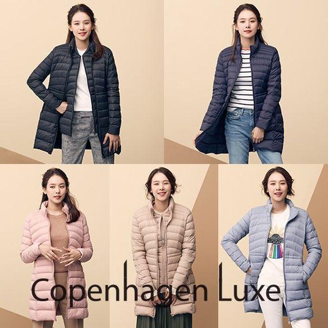 [오플]코펜하겐럭스 여성 구스다운 롱자켓+베스트 2종