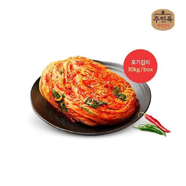 주인옥 포기김치 10kg /box