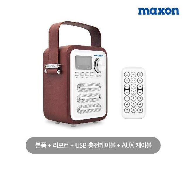 맥슨(maxon) 블루투스 라디오 스피커 붐박스 (MXBT 3000)