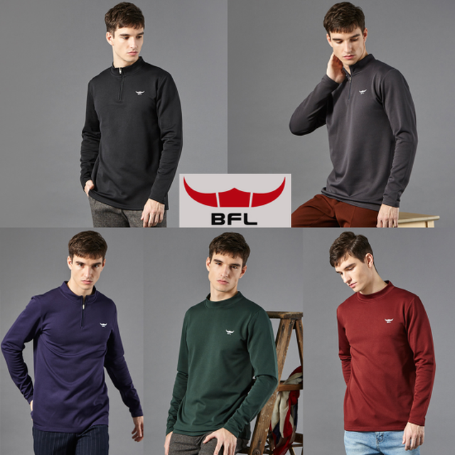 BFL버팔로 남자 기모티셔츠 5종