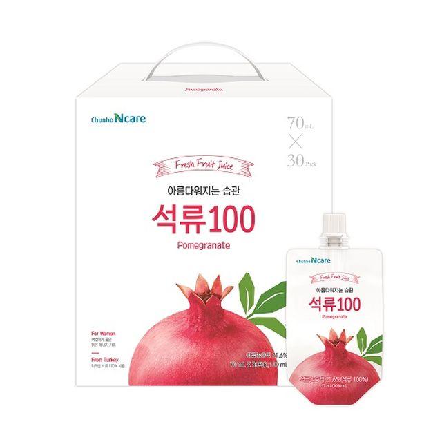 아름다운 습관 석류100(총90포_30포X3box)