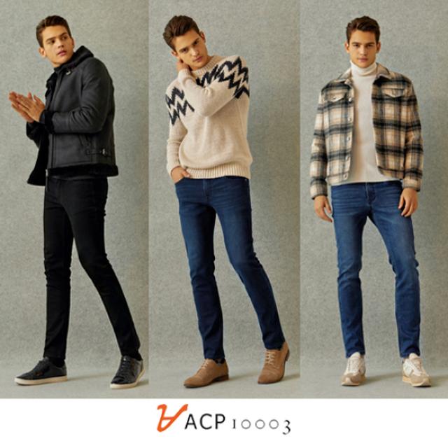 ACP 남성 소프트 웜본딩 데님 3종