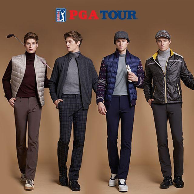 18년 겨울 최신상 PGA TOUR 남성 울트라웜 기모 골프팬츠 4종