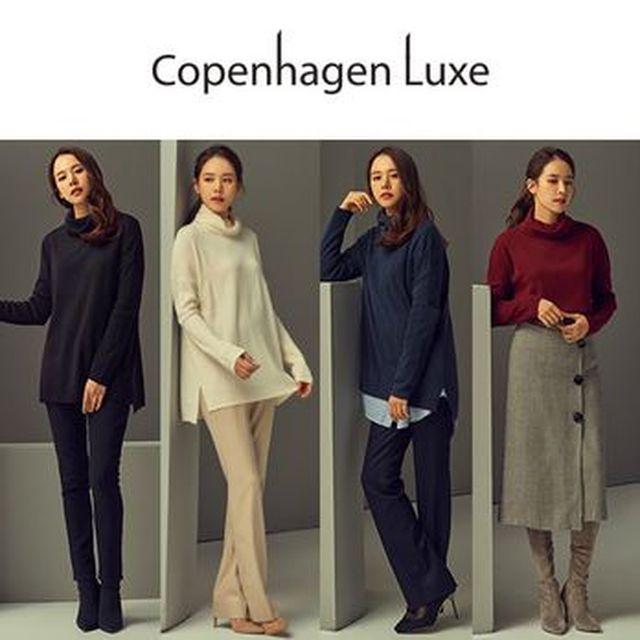 [삼성카드5%할인][NS Shop+]코펜하겐럭스 판초니트4종