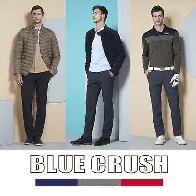 [Blue Crush 블루 크러쉬] WINTER 남성 기모 본딩 팬츠 3종