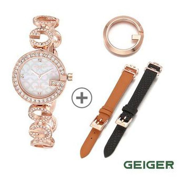 [NS Shop+](일시불)가이거 콘체르토 다이아몬드 워치+주얼리3종