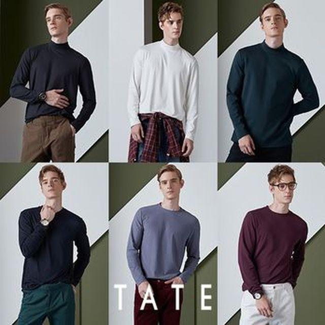 [BC카드5%할인][NS Shop+]테이트 남성 기모티셔츠 6종