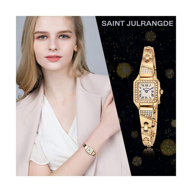 생쥴랑 18K 골드 그레이스 주얼 여성 시계(모던형)