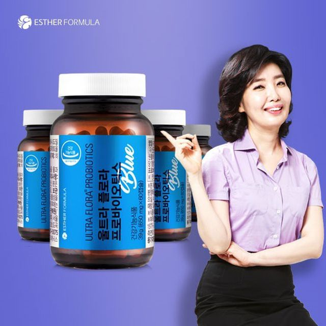 [NEW]업그레이드 여에스더 유산균 프로바이오틱스블루 4병 8개월