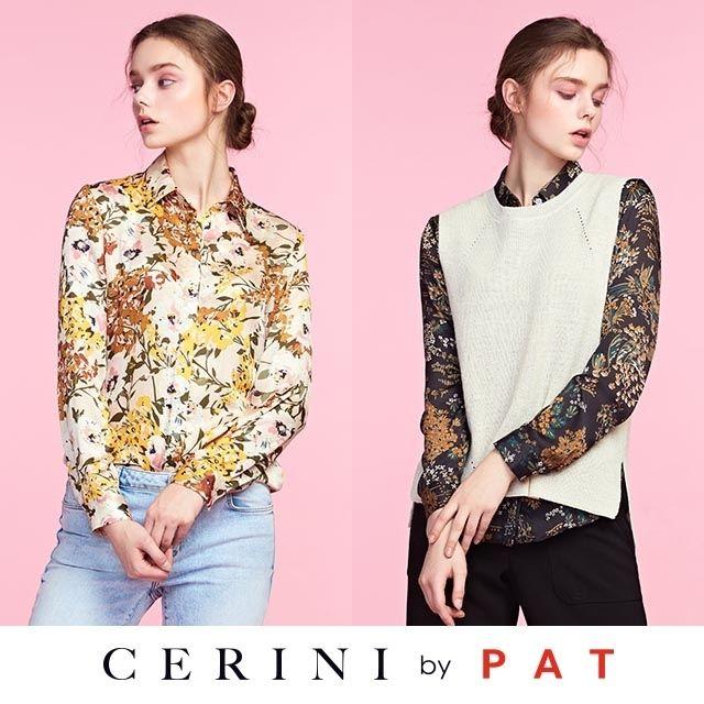 CERINI by PAT 블라우스2종+니트베스트