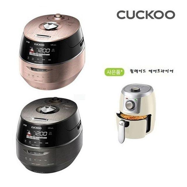 [10인용] 쿠쿠 IH메탈릭커브드 2기압  압력밥솥 CRP-FHR107