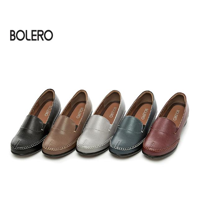 (초특가)볼레로 BOLERO 여성 천연소가죽 로퍼(여성)