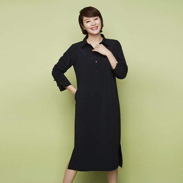 마르엘라로사티(Mariella Rosati) 롱 셔츠카라 원피스 3종 with 김혜수
