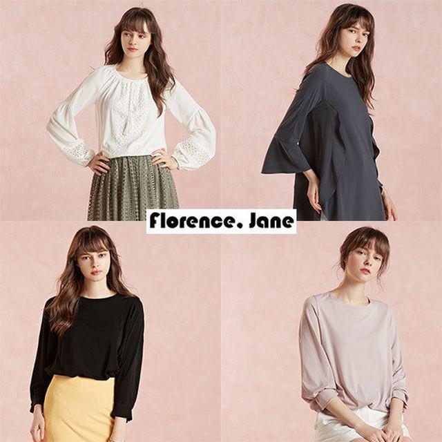 [Florence Jane]플로렌스제인 로맨틱 텐션 블라우스 4종