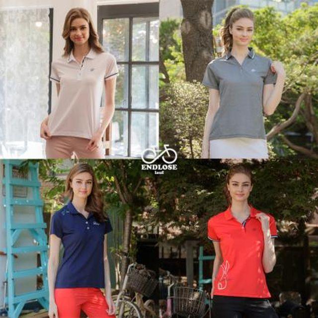 19년여름최신상 엔드로제 기능성 여성 PK티셔츠 (4종)
