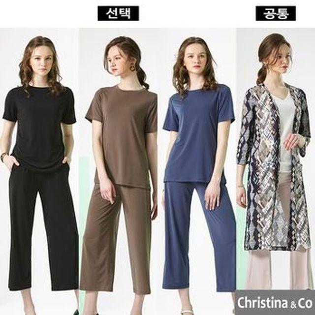 [NS Shop+]크리스티나앤코 로브앙상블세트