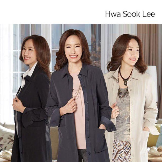 Hwa Sook Lee SUMMER 쉬폰 자켓