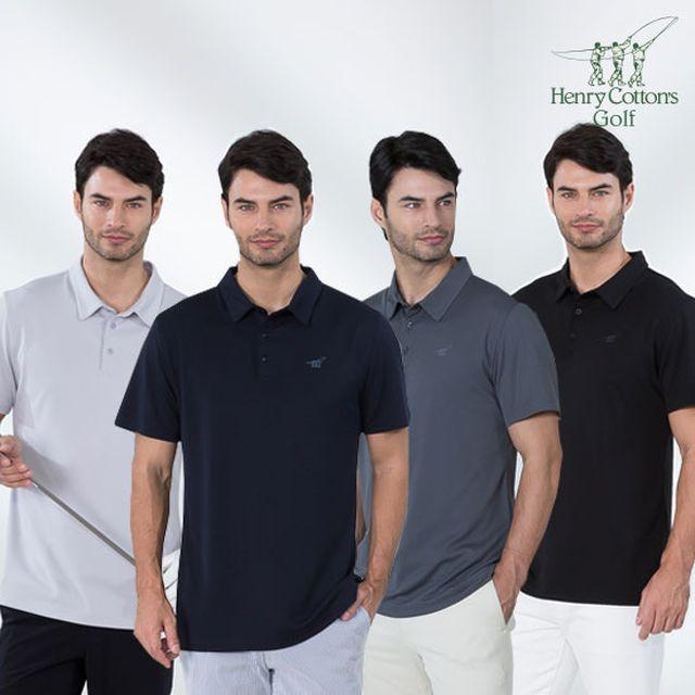[초특가]NEW 헨리코튼 골프 남성 아이스 폴로 티셔츠 4종
