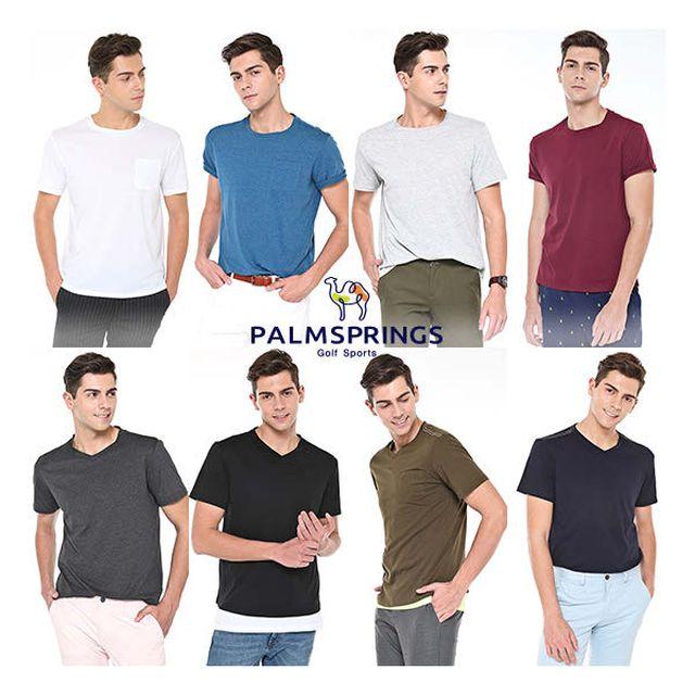 팜스프링스 남성 리프레쉬 데일리 티셔츠 8종