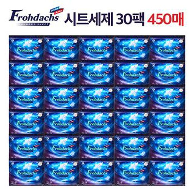 [TV](썸머한정구성)프로닥스 시트세제 30팩+매직폼 2개