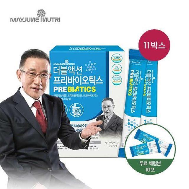 [일시불 할인]더블액션 프리바이오틱스 유산균 11개월분+무료체험10포 (Z010)