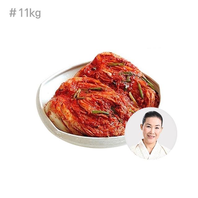 [파격구성] 명인 유정임 프리미엄 포기김치 11kg