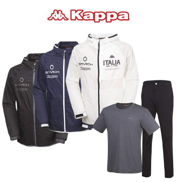 카파(KAPPA) 남성 뉴트로 데일리 트랙수트 3종