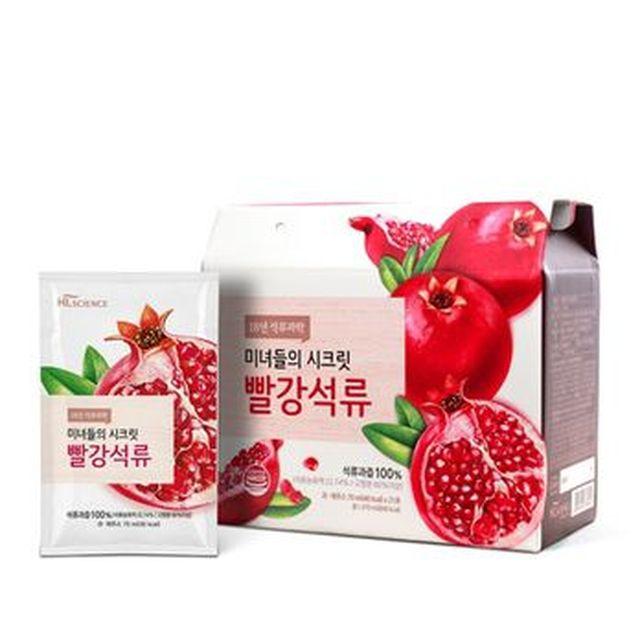 [TV]미녀들의 시크릿 빨강석류 6박스/126포