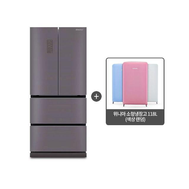 (초특가)2019년형 위니아 딤채 4룸 스탠드형 마일드 제트 467L(LDQ48CHRMJ)+(사은품) 위니아소형냉장고 118L