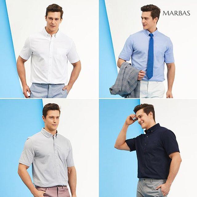 [오플]마르바스 남성 이지 매너셔츠 4종 컬렉션 19SS