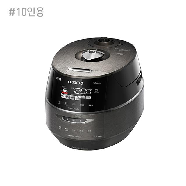 쿠쿠 IH 메탈릭커브드 스마트 전기압력밥솥 10인용 CRP-FHR107FG/FD