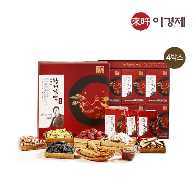 이경제 황제진액 홍삼 4박스 (60mlX30포X4박스)