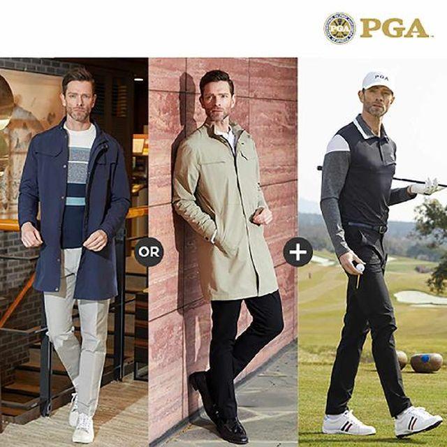 [초특가](남성)PGA 클래식 라운딩 골프웨어 3종