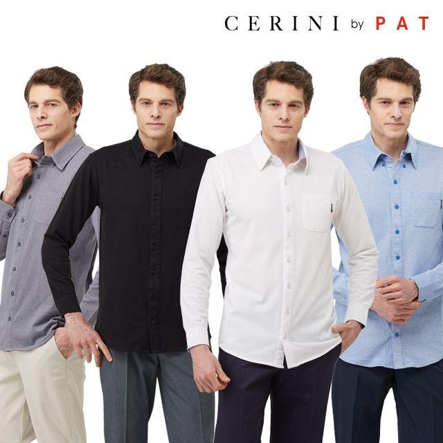 CERINI by PAT 릴렉스 카라셔츠 4종