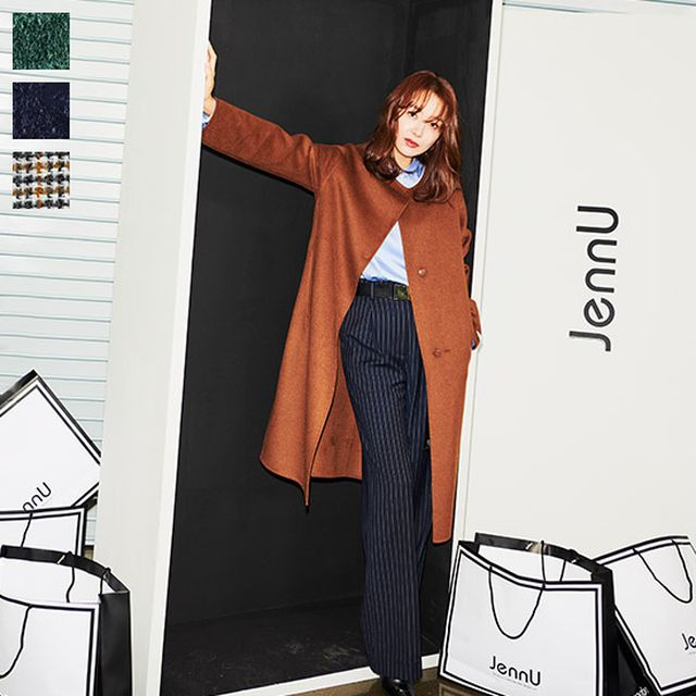 19FW 최신상 소이현코트제뉴 소이현의 Connie 핸드메이드 울코트
