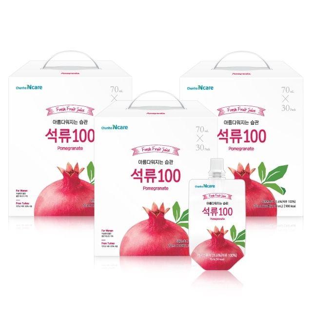[천호엔케어35주년기념] 아름다워지는 습관 석류100 90팩+10팩